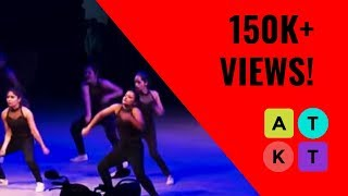 Amity University Students Super Western Dance Routine at IIT-D