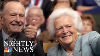 Barbara Bush Remembered For Values And Impact At Funeral Service | NBC Nightly News