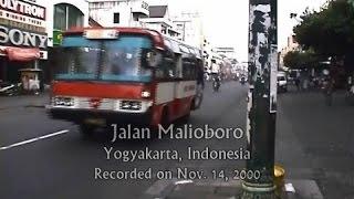 Tahun 2000 : Jalan Malioboro, Yogyakarta, Indonesia
