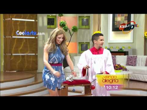 Raquel Bigorra Moviendo Culote Minivestido Azul HD