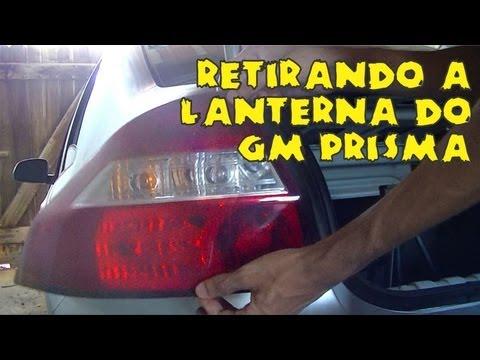 Retirando a Lanterna do GM Prisma
