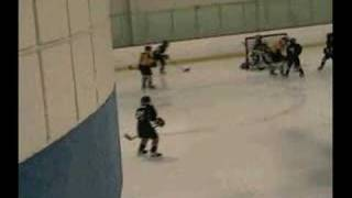 Too close in front of the net