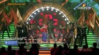 Anushka Sharma's Performence at Apsara Awards 2012 (HQ)