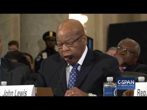 Rep. John Lewis complete testimony against Senator Sessions C SPAN