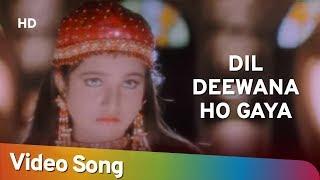 Dil Deewana Ho Gaya | Jurmana (1996) | Rambha | Shakti Kapoor | Popular Bollywood Song