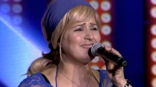 تجارب الأداء زهرة أبو حوت تبكي فرحاً - The X Factor 2013