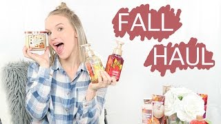 HUGE Bath & Body Works Haul | Fall Collection