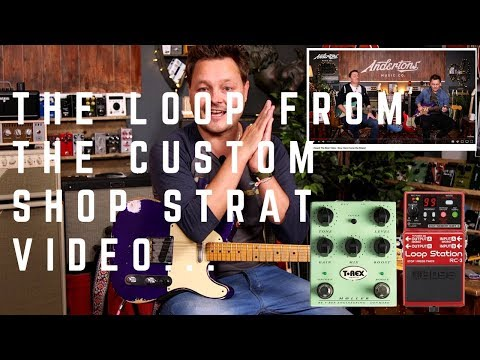 The 3 Easy Chords Loop From Our Fender Custom Strat Video - Plus Tips For Looping and Improvisation