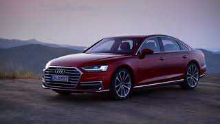 New Audi A8 - footage