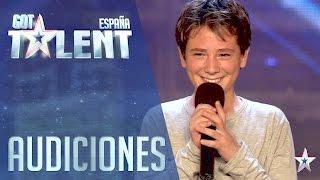 ¡¡Pedroooo!! Directo a la Semifinal gracias a Jesús Vázquez  | Audiciones 1 | Got Talent España 2016