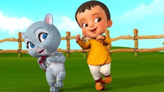 Khoka Jabe Shoshur Badi | Bengali Rhymes for Children | Infobells