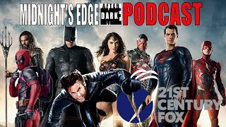Justice League Box Office, Fox and Marvel - Midnight's Edge AD Podcast