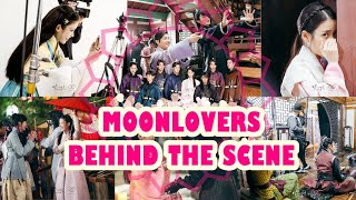 Moonlovers: IU and Lee Jun Gi cute moments ❤ [Behind The Scenes  (with English sub)]