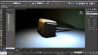 Thor Hammer 3D model free download 3DS MAX 2015