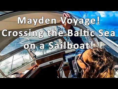 Maiden Voyage! Sailing across the Baltic Sea - Ep 08 Sailing Kauana