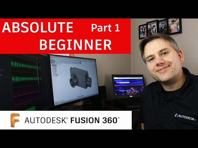 Fusion 360 for Absolute Beginners— Part 1