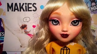 UnBoxing my New Makie with a Special FaceUp by Little Moo