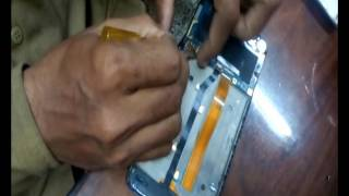 Alkatel onetouch Flash screen digitizer change video