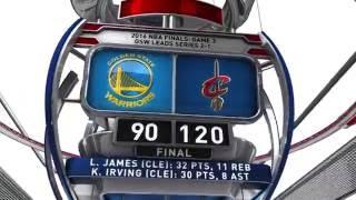 Golden State Warriors vs Cleveland Cavaliers - June 8, 2016