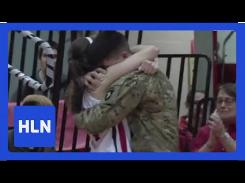 Xxx Mp4 Military Brother Surprises Sister At Her Last Game 3gp Sex