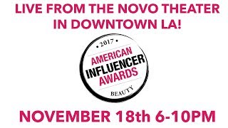 American Influencer Awards 2017