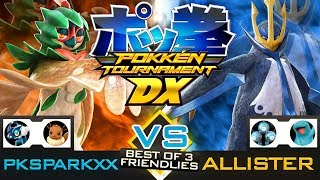 Pokken Tournament DX - Decidueye vs Empoleon (PKSparkxx vs Allister) (Nintendo Switch Gameplay)