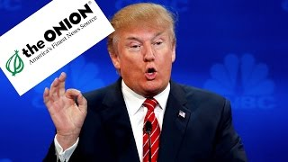 Trump Demands Apology From The Onion