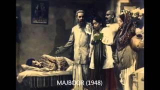 1948  majboor  geeta roy and lata  har shai pe jawaani hai  ghulam haider
