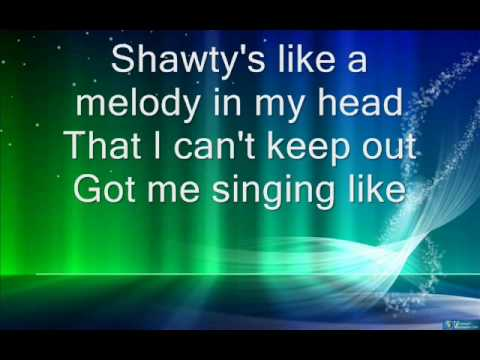 Sean Kingston - Shawtys like a melody in my head lyrics