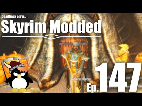 Geldis Wants You to Try His Drink! - Skyrim Modded Ep 147