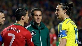 Cristiano Ronaldo Vs Zlatan Ibrahimovic Battle For Extraordinary Goals