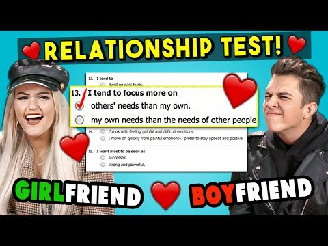 Couples Take A Love Compatibility Test For Valentine s Day React