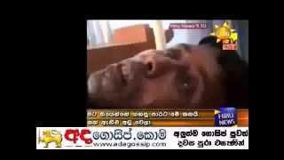 wariyapola selva admited to the hospital
