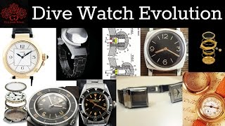History of Dive Watches, Who Did What?!