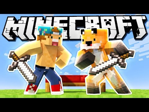 BLIND BEDWARS!? | Minecraft BedWars w/SeaPeeKay