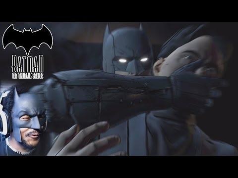 BLACKMAN PLAYS BATMAN (.. lol i had to) | Batman: The Telltale Series [Episode 1: Realm of Shadows]