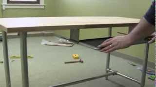 Adjustable Height Sitting or Standing Desk