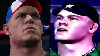 WWE 2K17 - The Evolution Of John Cena   NOW vs THEN (2003-2017)