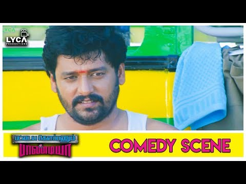 Viddarth & Soori Trolls Their Dad - Pattaya Kelappanum Pandiya | Scene | Lyca Production
