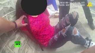 Disturbing: US cops pepper spray, detain 15yo girl for 'not cooperating' (Bodycam footage)