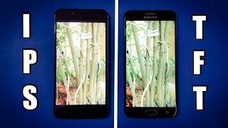 ViVo Y66 vs Samsung J7 Prime Screen Comparison | IPS vs TFT | TechTag!