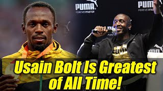 Legendary Olympian Linford Christie hails Usain Bolt as greatest athlete of all time   Oneindia News