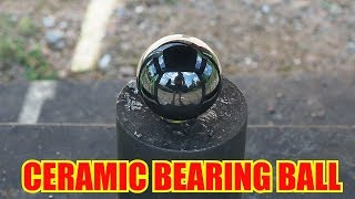Giant Ceramic Bearing Ball Vs. World