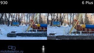 Lumia 930 vs iPhone 6 Plus: сравнение камер на видео (camera comparison)