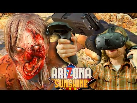 VR ZOMBIE Co-op - The Search for Hot Lucy - Arizona Sunshine