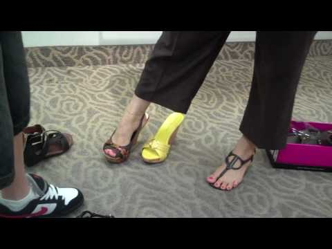 Gaby Alexis Alexa Trying Out Shoes Sunday March 14th 2010.MP4