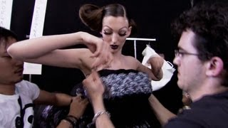 Christian Dior Haute Couture Fall/Winter 2008 | Backstage | EXCLUSIVE | HD