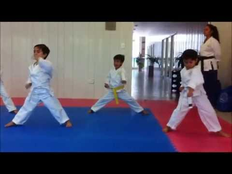 KARATE NIÑOS Clase 3 4.5 KC Team CANCUN