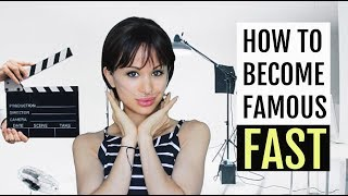 How to Become Famous FAST!!! You Won't Believe How EASY!