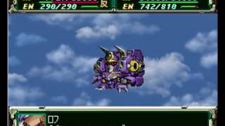 Super robots wars F Final - Sega Saturn - Super Army - Scenario 57